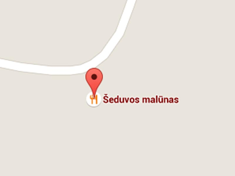 Seduvos malunas map
